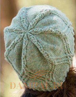 шапка женская вязаная