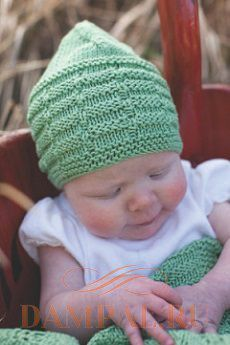 Вязаные шапочка и плед для малышей