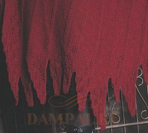 вязаная накидка-пальто