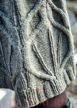 вязаная зимняя юбка