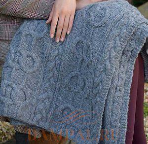 针织灰色毯子 - maomao - 我随心动