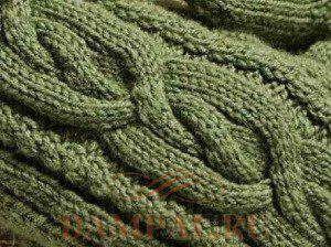 вязание рисунок косы