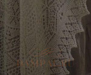 ажурные узоры для шалей