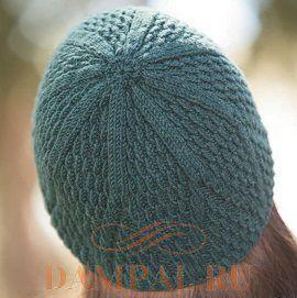 вязаная шапка для девушек