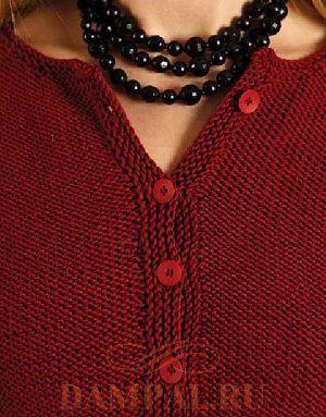 женская кофточка спицами