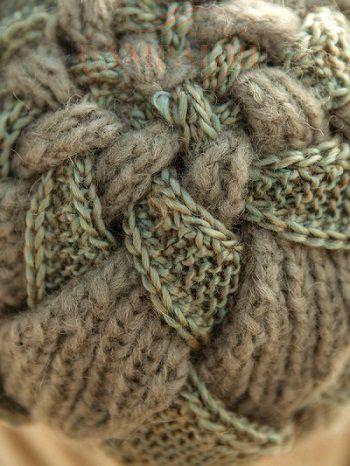 вязаная шапка-чалма