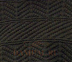 простой мужской свитер спицами