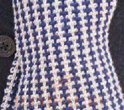 двухцветный мужской шарф Damские Palьчики Ru