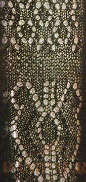 ажурный рисунок спицами