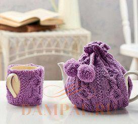 грелки на чашку и чайник