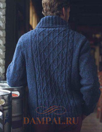 мужской вязаный свитер