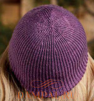 комплект шапка митенки