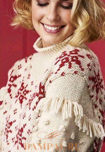 новогодний пуловер