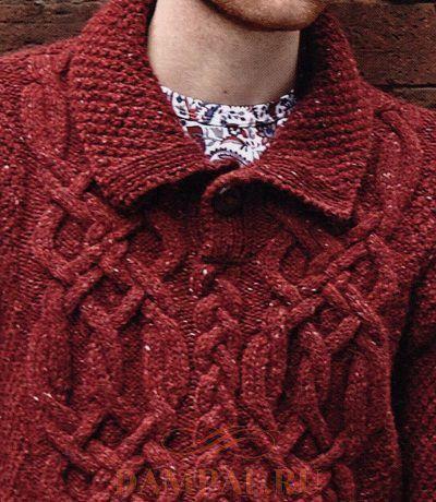 мужской вязаный пуловер