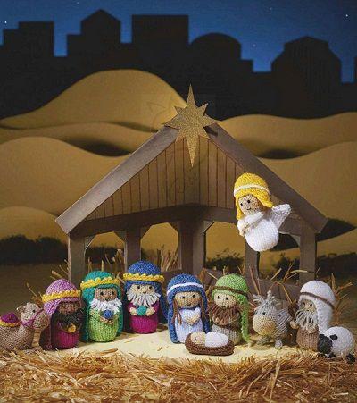 вязаное рождество