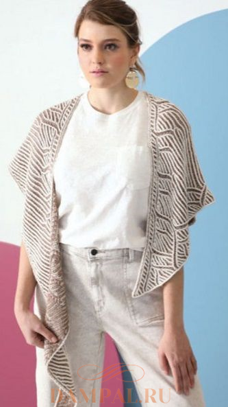 асимметричная шаль